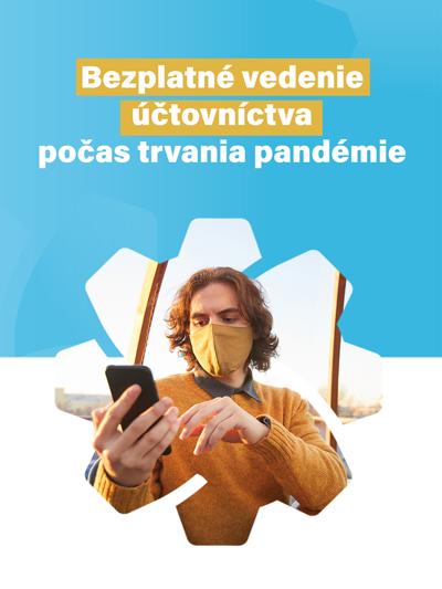 Bezplatné vedenie účtovníctva počas trvania pandémie